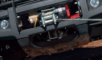 Closeup photo of Gator UV winch