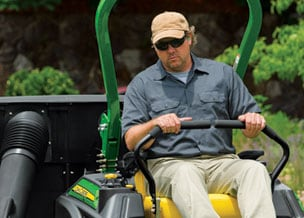 Follow link to commercial mowers product selector