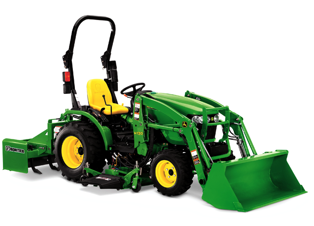 Evergreen Implement Compact Utility Tractor Loaders
