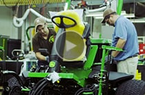 Follow link to watch A Model mowers assembly video