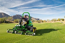 Follow link to view E-Cut Hybrid Fairway Mowers