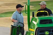 Follow link to sign up to demo the new Golf A Model Mowers