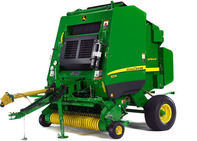854 Silage Special Round Baler