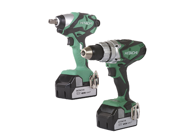 ET-KC18DESLM 1/2-inch 18 Volt Cordless Impact Wrench and Driver Drill Combo Kit