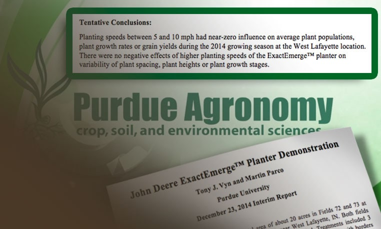 Image of Purdue Logo and Report Document