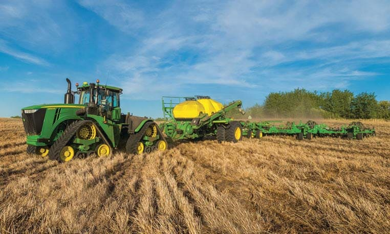 Image of John Deere Planting Equipment in field