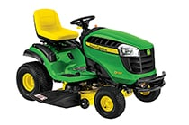 Follow link to Lawn Tractors page.