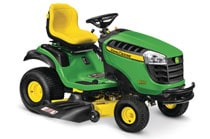Follow link to the D155 Lawn Tractor (NEW) product page.