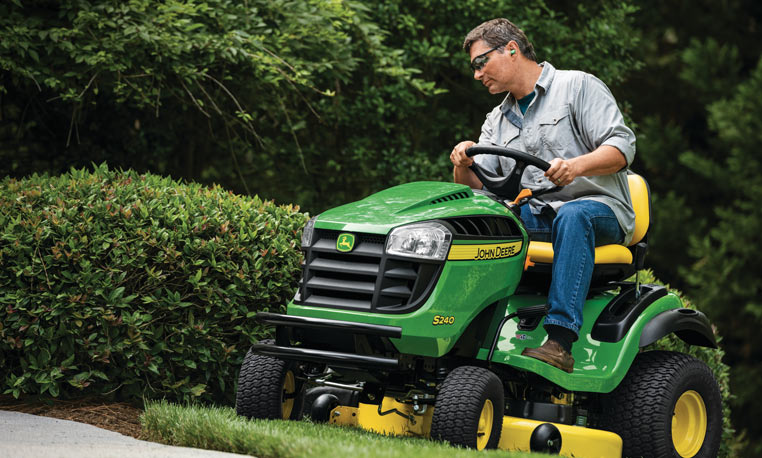 View the S240 Sport Lawn Tractor.