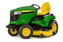 Image of an X590 Multi-Terrain Tractor with 54-in. Deck