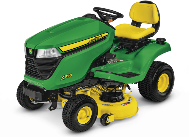 X350 Tractor with 42-inch Deck