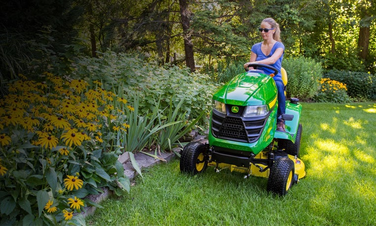 View the X330 lawn tractor.