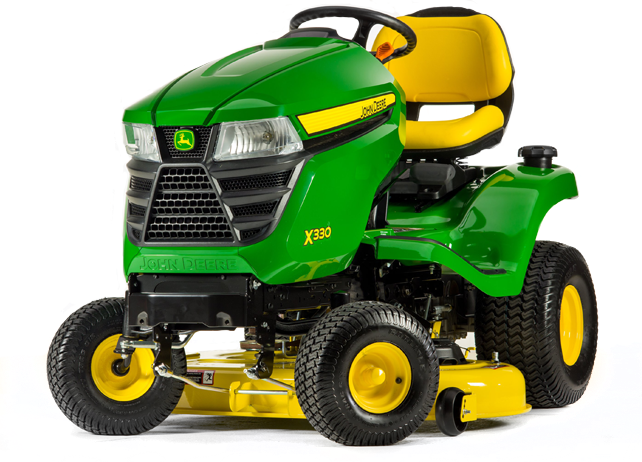 john deere select series x300 lawn tractors holland sons. Black Bedroom Furniture Sets. Home Design Ideas