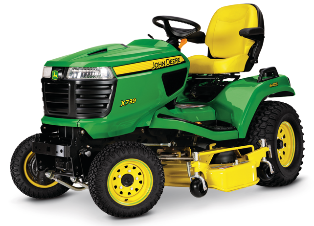 4 Wheel Steering Lawn Tractor X739 Signature Series