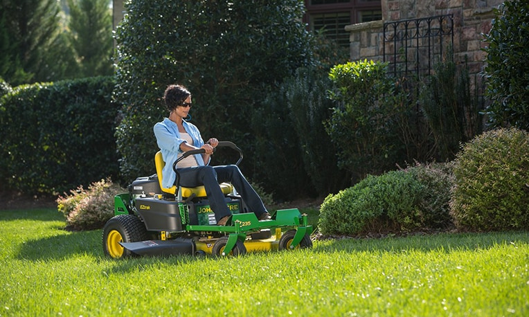 View special offers for riding mowers.