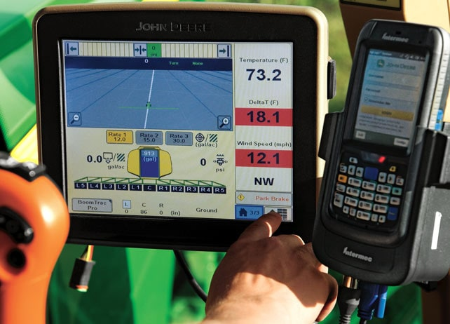 Mobile Weather Field And Crop Solutions John Deere Us