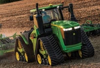 9RX tractor in field