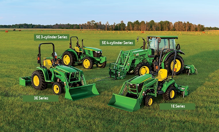 Tractor Attachments Product : Compact and utility tractors e series john deere us