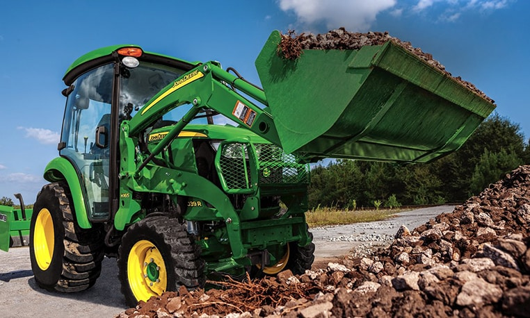 Follow link to compact utility tractors financing offers.