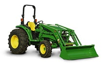 Image of a John Deere 4066M Compact Utility Tractor