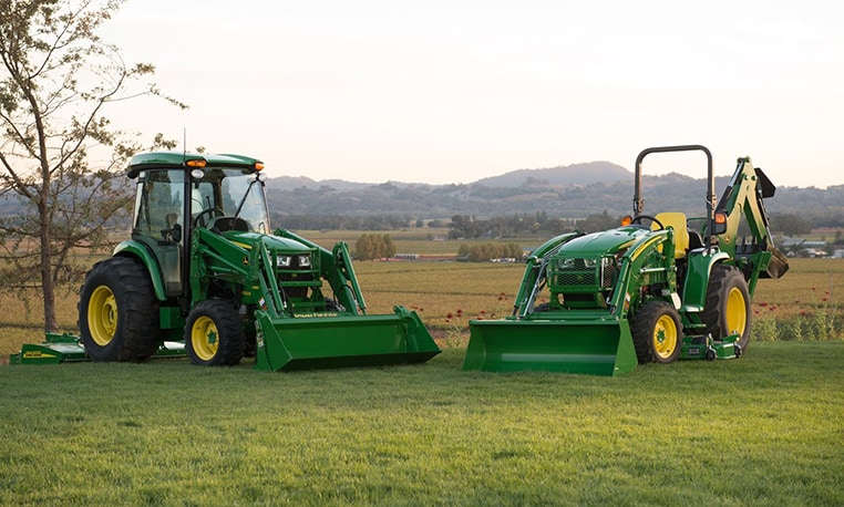 Follow link to Compact Utility Tractor financing offers.
