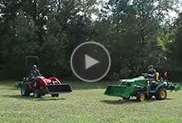 View mower deck comparison video