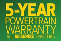 5-Year Powertrain Warranty Now Available