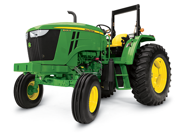 6105D Utility Tractor