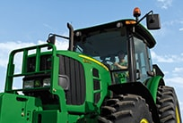 Follow the link to John Deere tractor attachments
