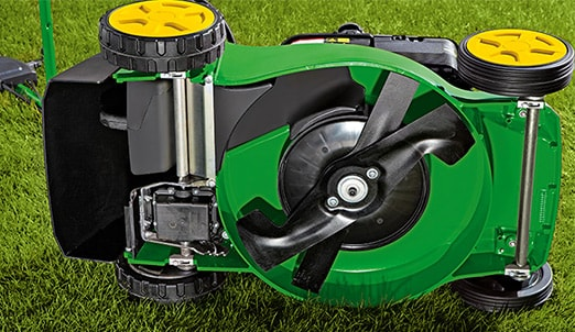 Available on most John Deere mowers. The optional mulching kit fits almost all walk-behind mowers