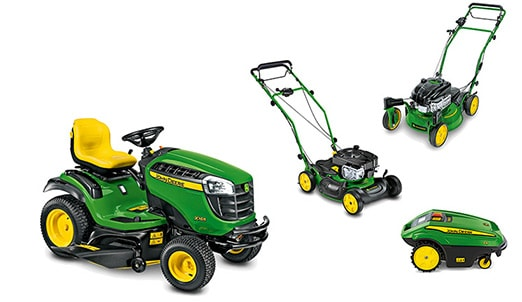 Chose your mulching mower or fits your walk-behind mowers with the optional mulching kit - available on most John Deere mowers.