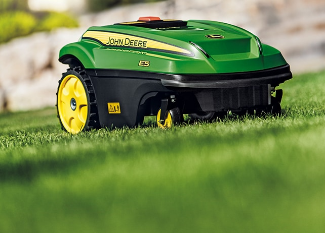 TANGO mows in any weather and at any time-all by itself