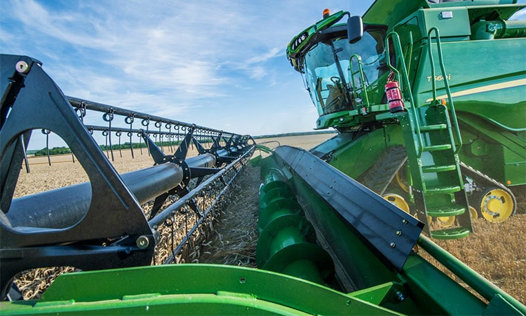 600 Premium Flow – Versatile small grain header from 5.10m to 10.70