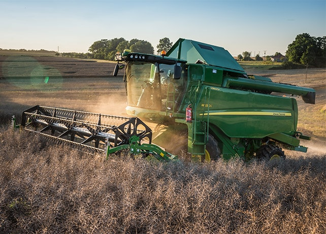 W540 The W-Series. Harvest in record time