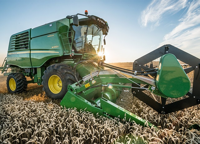 W550 The W-Series. Harvest in record time