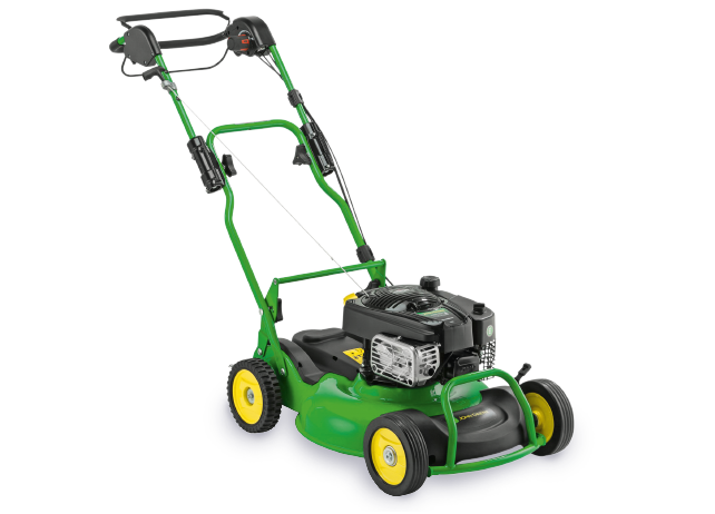 The John Deere Pro 53MV, the professional mulching mower.