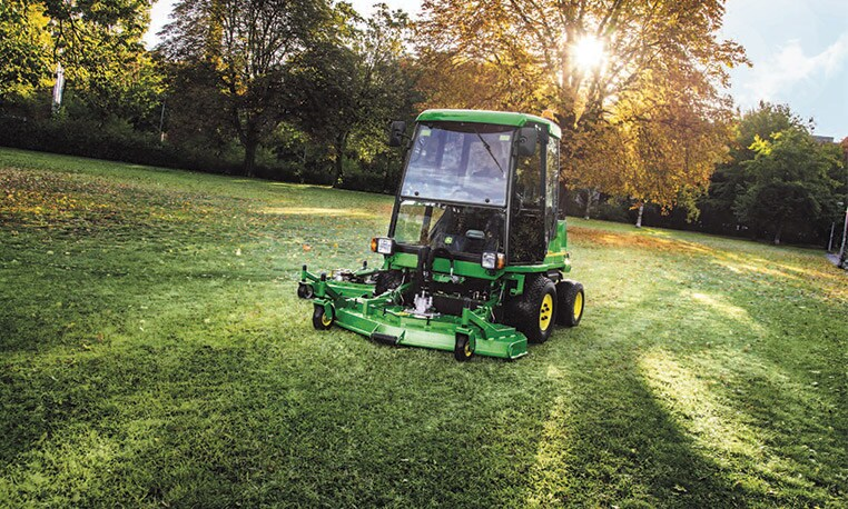 Large scale mowers for large scale performance