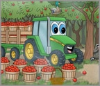 Johnny Tractor's Apple Orchard