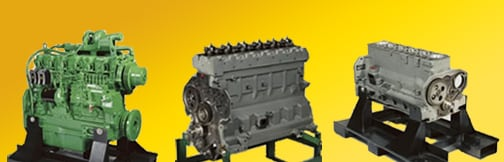 Complete engines, complete and short block assemblies