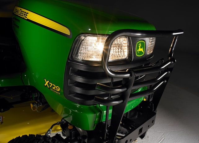 Front Brush Guard, X700 Series Tractor Protection & Appearance