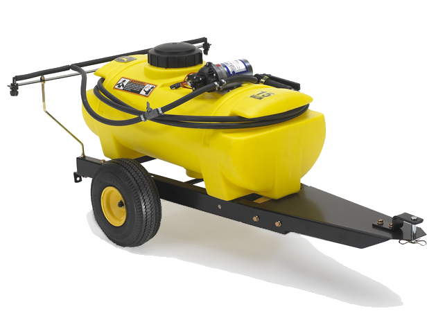 15-Gallon Tow-Behind Sprayer Yard & Lawn Care