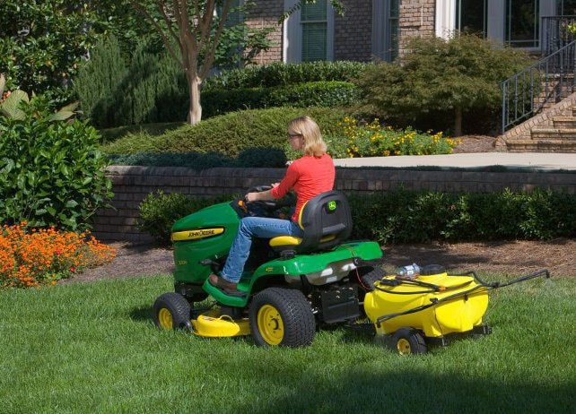 25-Gallon Tow-Behind Sprayer Yard & Lawn Care