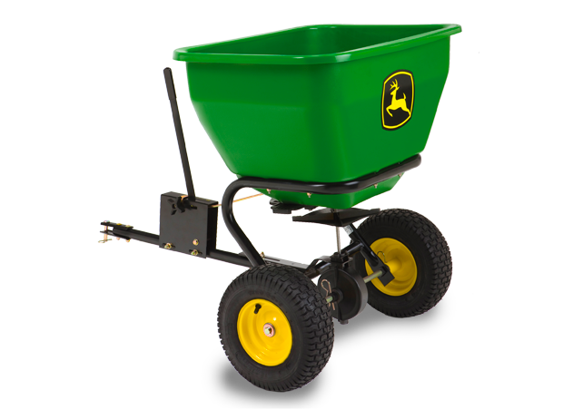 80-lb. Pull-Type Spin Spreader Yard & Lawn Care