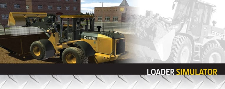 Wheel Loader Simulator from John Deere