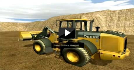 Excavator Simulator from John Deere