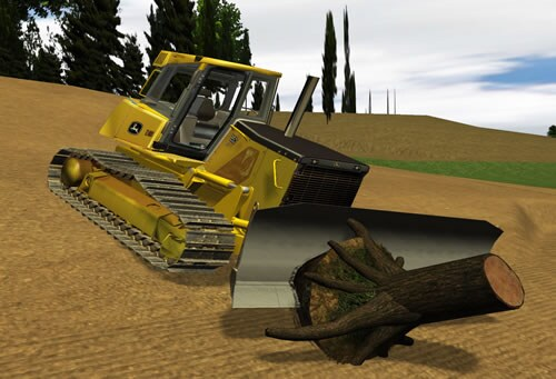 Learn how to cut roots and properly remove various sized stumps.