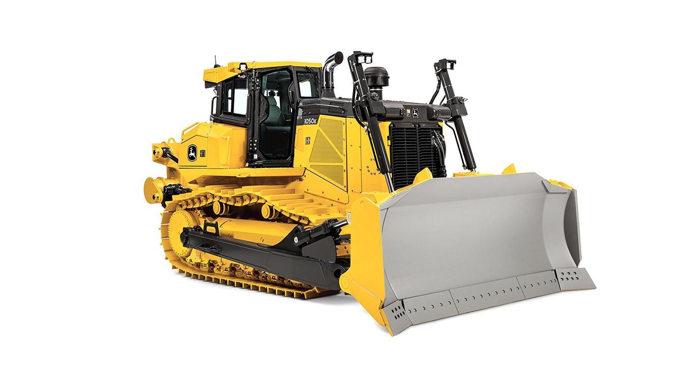 Imagen de estudio Tractor Topador 1050K.