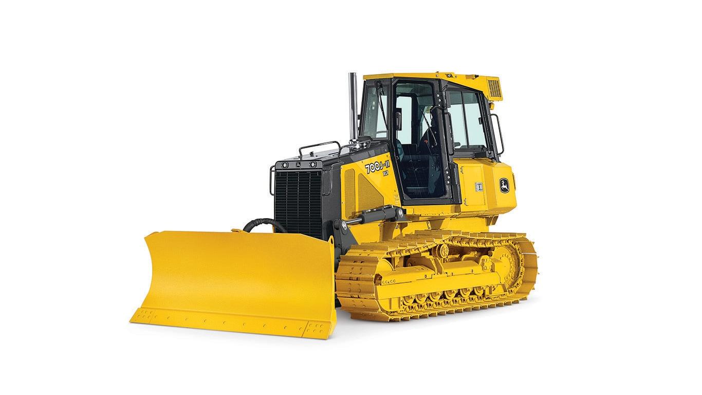 Imagen de estudio Tractor Topador 700J-II.