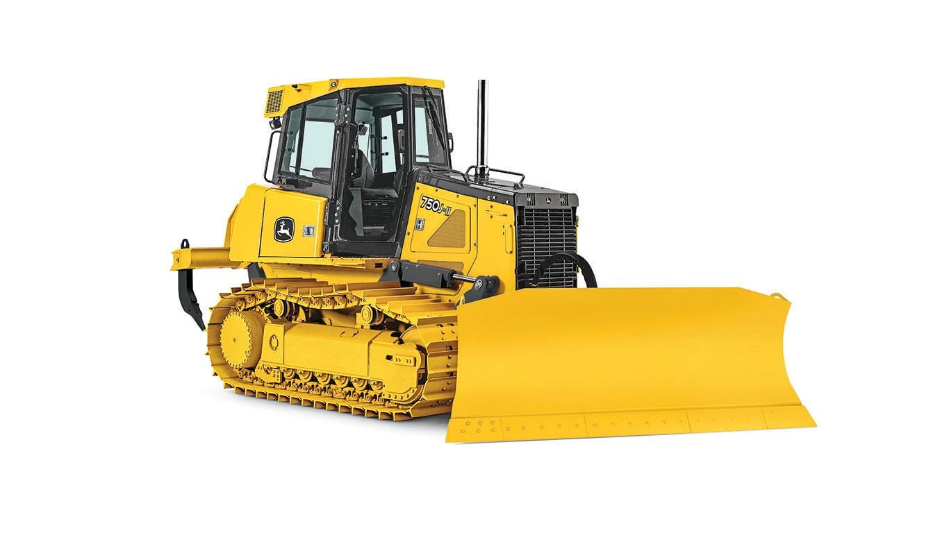 Imagen de estudio Tractor Topador 750J-II.