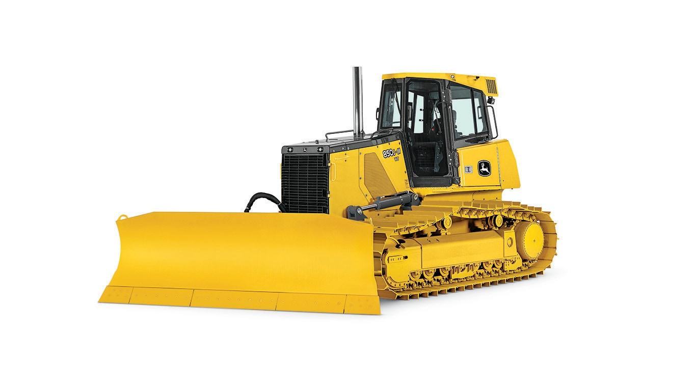 Imagen de estudio Tractor Topador 850J-II.